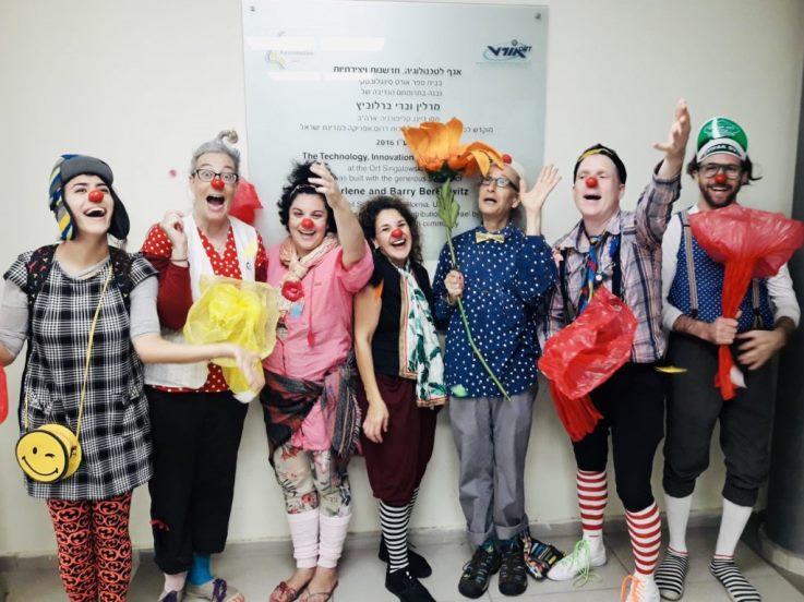 New Educational Clowns In Israeli Schools Madan